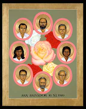 6 Jesuit Priests their houskeeper and her daughter killed in El Salvador