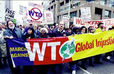 WTO protests in Seattle